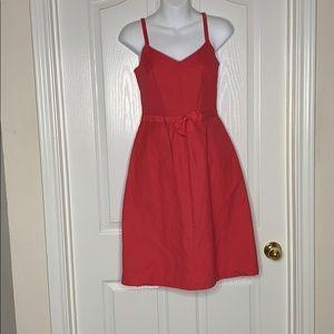 ⭐️ GAP Midi Dress Coral Size 6